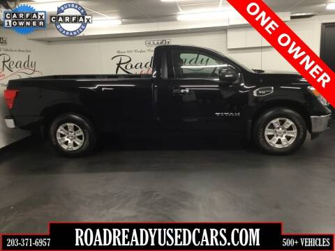 2017 Nissan Titan for sale at Road Ready Used Cars in Ansonia CT
