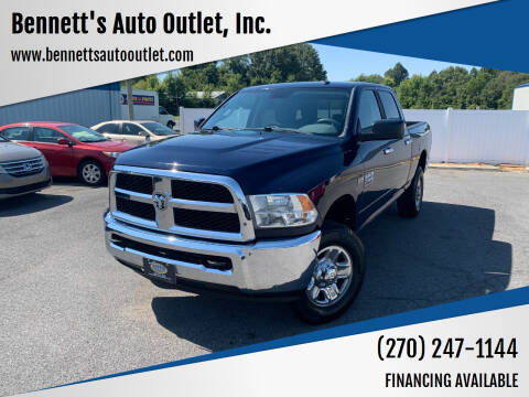2015 RAM Ram Pickup 2500 for sale at Bennett's Auto Outlet, Inc. in Mayfield KY