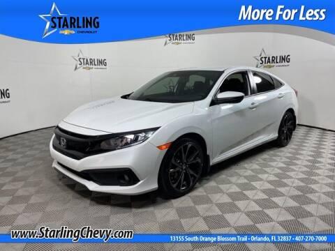 2020 Honda Civic for sale at Pedro @ Starling Chevrolet in Orlando FL