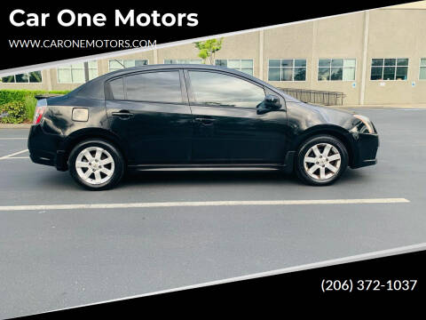 2012 Nissan Sentra for sale at Car One Motors in Seattle WA