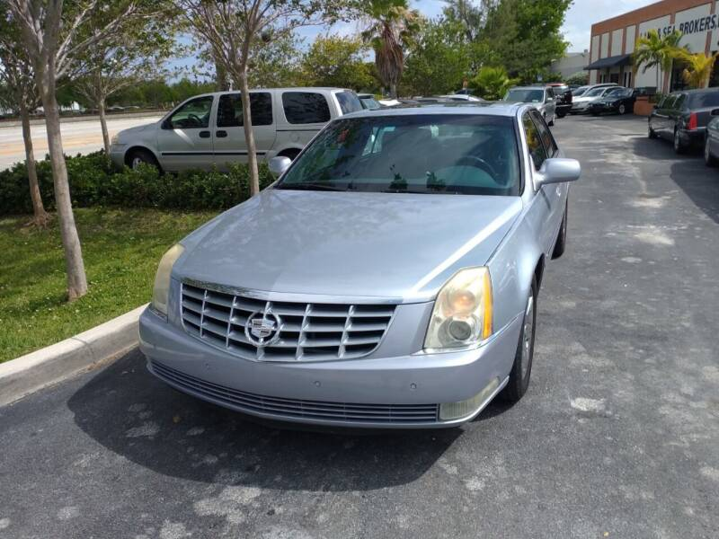 2006 Cadillac DTS for sale at LAND & SEA BROKERS INC in Deerfield FL