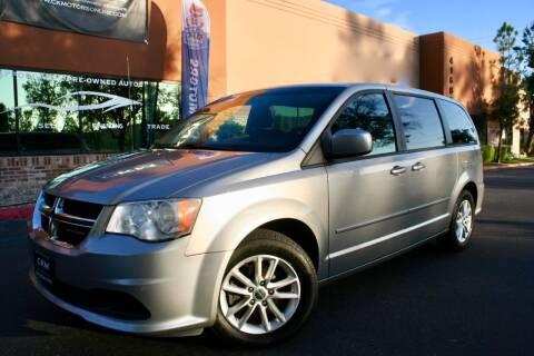 2013 Dodge Grand Caravan for sale at CK Motors in Murrieta CA