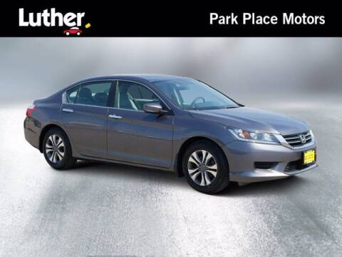 2015 Honda Accord for sale at Park Place Motor Cars in Rochester MN