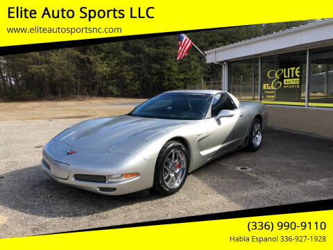 2004 Chevrolet Corvette for sale at Elite Auto Sports LLC in Wilkesboro NC