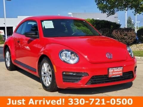 2017 Volkswagen Beetle for sale at Ken Ganley Nissan in Medina OH