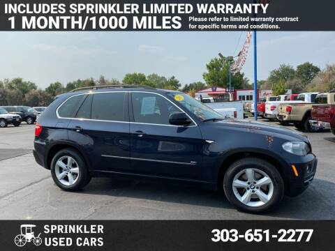 2007 BMW X5 for sale at Sprinkler Used Cars in Longmont CO