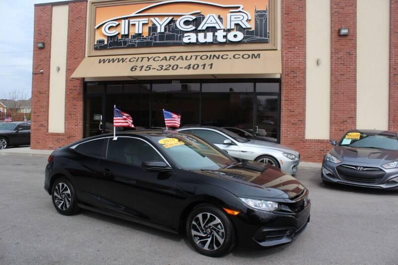 2018 Honda Civic for sale at CITY CAR AUTO INC in Nashville TN