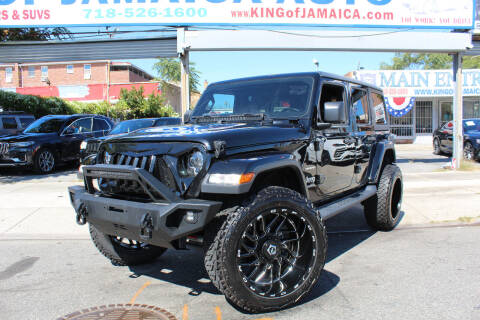2020 Jeep Wrangler Unlimited for sale at MIKEY AUTO INC in Hollis NY
