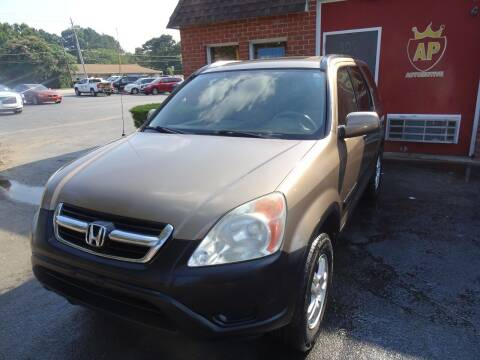 2003 Honda CR-V for sale at AP Automotive in Cary NC
