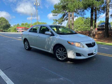 2010 Toyota Corolla for sale at THE AUTO FINDERS in Durham NC
