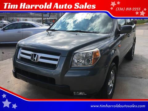 2008 Honda Pilot for sale at Tim Harrold Auto Sales in Wilkesboro NC