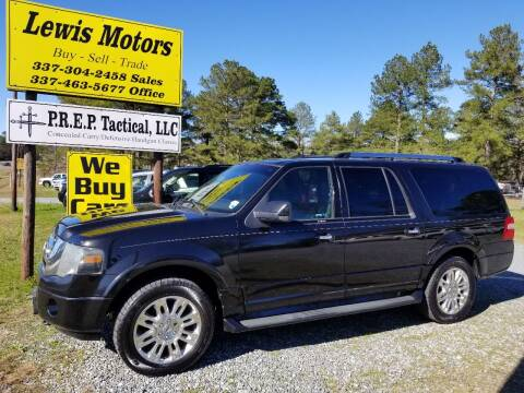 2011 Ford Expedition EL for sale at Lewis Motors LLC in Deridder LA
