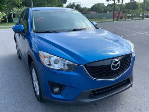 2014 Mazda CX-5 for sale at Consumer Auto Credit in Tampa FL