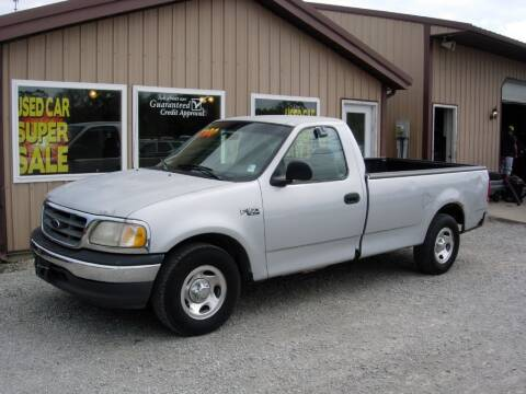 2000 Ford F-150 for sale at Greg Vallett Auto Sales in Steeleville IL