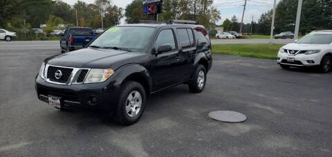 2011 Nissan Pathfinder for sale at Excellent Autos in Amsterdam NY