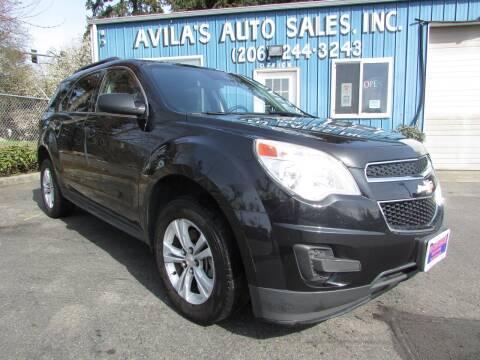 2013 Chevrolet Equinox for sale at Avilas Auto Sales Inc in Burien WA
