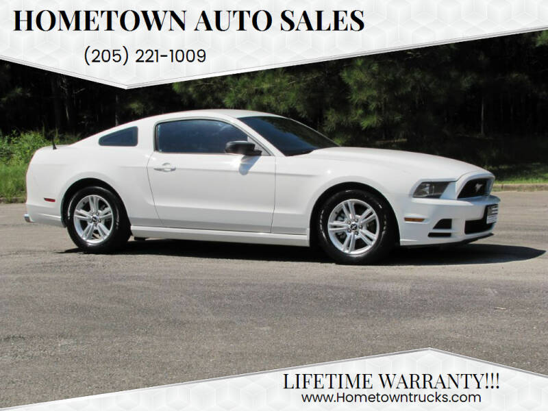 2013 Ford Mustang for sale at Hometown Auto Sales - Cars in Jasper AL