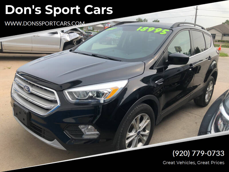2017 Ford Escape for sale at Don's Sport Cars in Hortonville WI