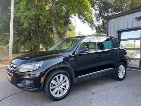 2016 Volkswagen Tiguan for sale at Luxury Auto Company in Cornelius NC