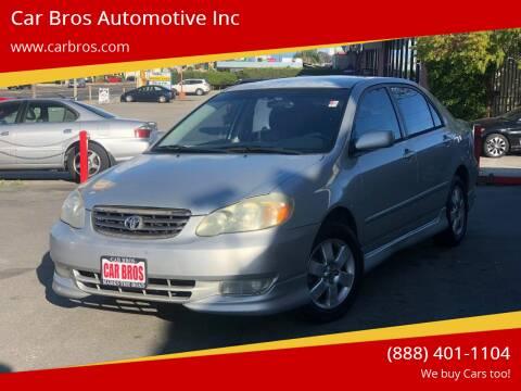 2004 Toyota Corolla for sale at Car Bros Automotive Inc in Lomita CA