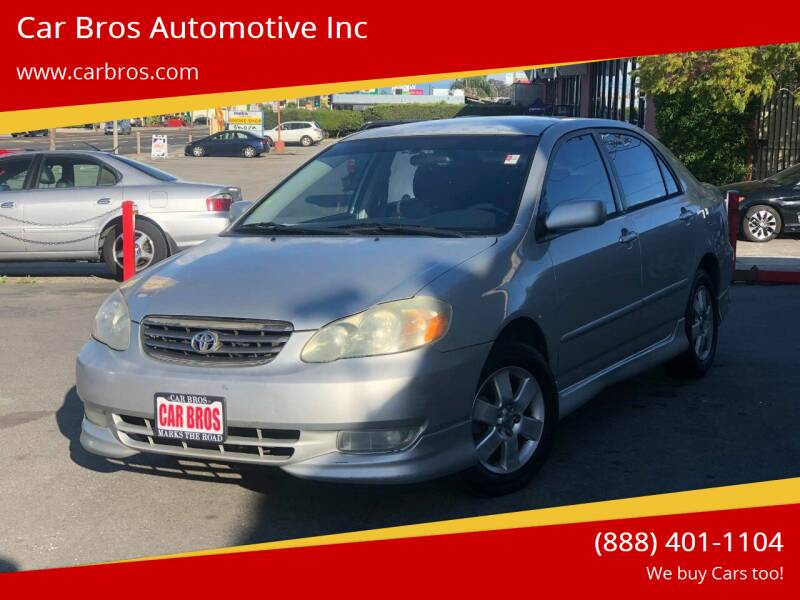2004 Toyota Corolla for sale at Car Bros Automotive Inc in Lomita CA