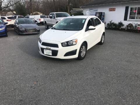2016 Chevrolet Sonic for sale at Sports & Imports in Pasadena MD