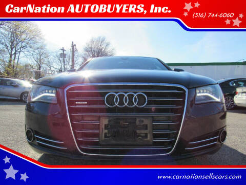 2012 Audi A8 L for sale at CarNation AUTOBUYERS, Inc. in Rockville Centre NY