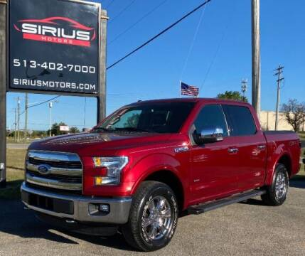 2016 Ford F-150 for sale at SIRIUS MOTORS INC in Monroe OH