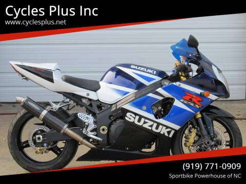2003 Suzuki GSXR 1000 for sale at Cycles Plus Inc in Garner NC