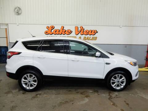 2017 Ford Escape for sale at Lake View Auto Center in Oshkosh WI