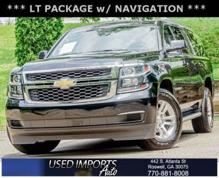 2017 Chevrolet Suburban for sale at Used Imports Auto in Roswell GA