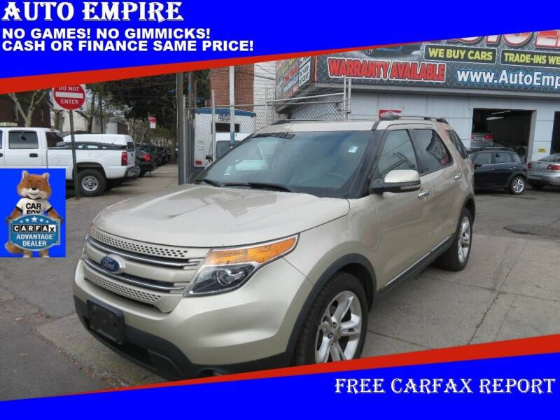 2011 Ford Explorer for sale at Auto Empire in Brooklyn NY
