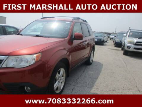 2010 Subaru Forester for sale at First Marshall Auto Auction in Harvey IL
