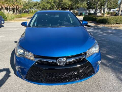 2017 Toyota Camry for sale at Gulf Financial Solutions Inc DBA GFS Autos in Panama City Beach FL