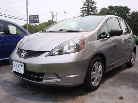 2010 Honda Fit for sale at Jay's Auto Sales Inc in Wadsworth OH