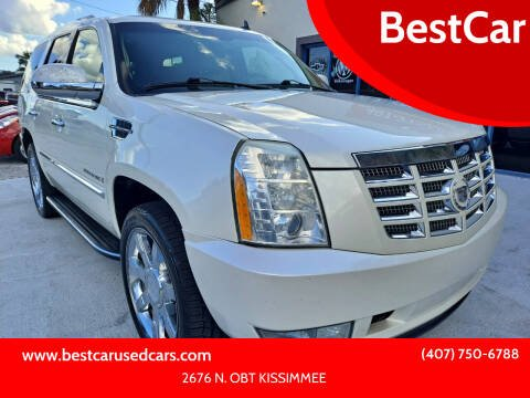 2009 Cadillac Escalade for sale at BestCar in Kissimmee FL