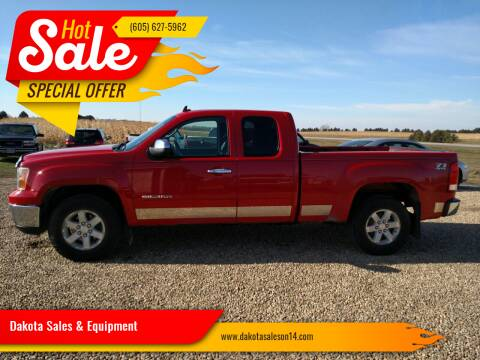 2011 GMC Sierra 1500 for sale at Dakota Sales & Equipment in Arlington SD