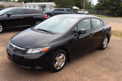 2012 Honda Civic for sale at Tommy Rice Motors in Byram MS