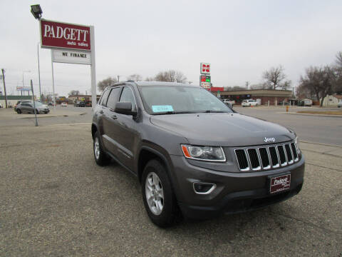 2014 Jeep Grand Cherokee for sale at Padgett Auto Sales in Aberdeen SD