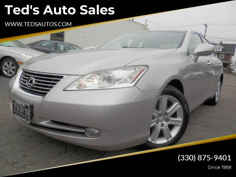 2007 Lexus ES 350 for sale at Ted's Auto Sales in Louisville OH