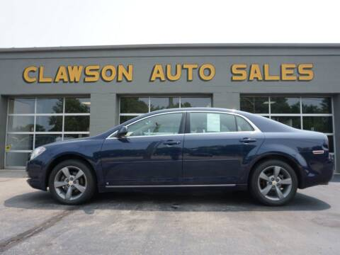 2009 Chevrolet Malibu for sale at Clawson Auto Sales in Clawson MI