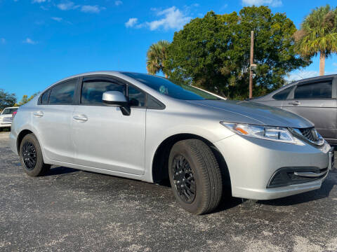 2013 Honda Civic for sale at Coastal Auto Ranch, Inc. in Port Saint Lucie FL