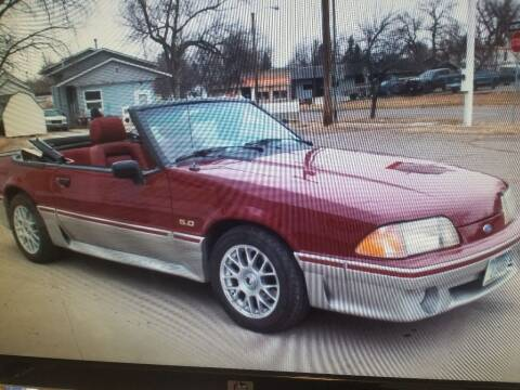 1989 Ford Mustang for sale at AUTO BROKER CENTER in Lolo MT