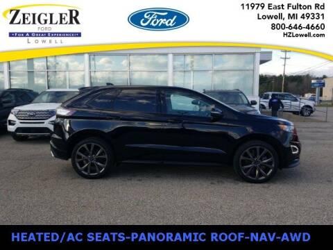 2018 Ford Edge for sale at Zeigler Ford of Plainwell- michael davis in Plainwell MI