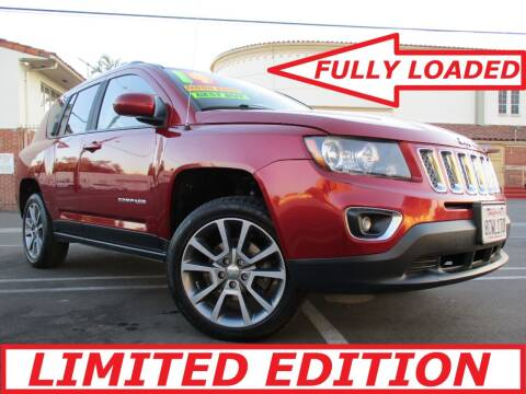 2014 Jeep Compass for sale at ALL STAR TRUCKS INC in Los Angeles CA