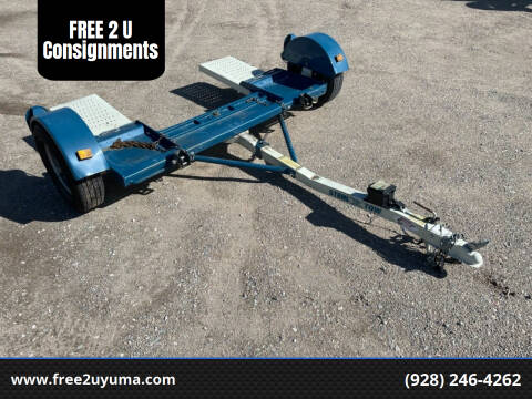 2017 Stehl Tow Dolly for sale at FREE 2 U Consignments in Yuma AZ