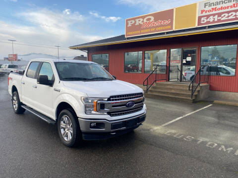 2018 Ford F-150 for sale at Pro Motors in Roseburg OR