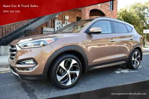 2016 Hyundai Tucson for sale at Apex Car & Truck Sales in Apex NC