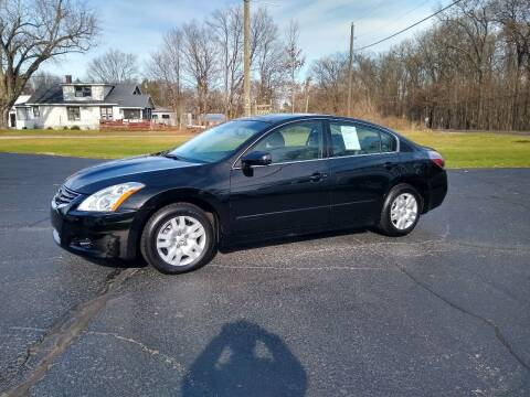 2012 Nissan Altima for sale at Depue Auto Sales Inc in Paw Paw MI
