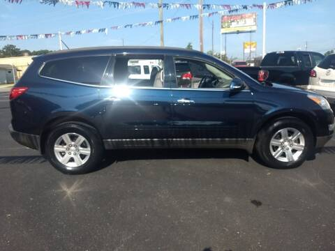 2012 Chevrolet Traverse for sale at Kenny's Auto Sales Inc. in Lowell NC